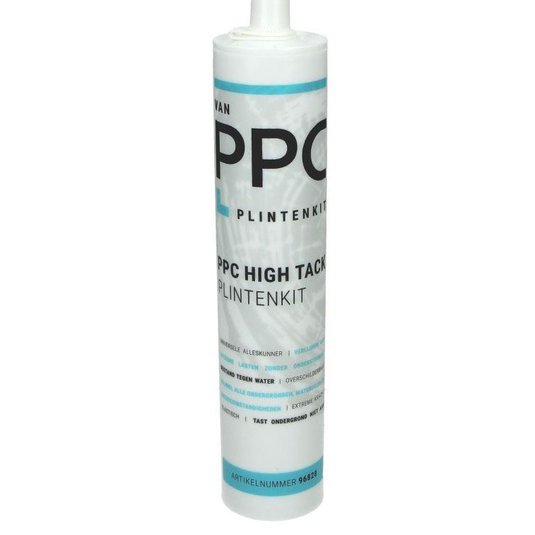 PPC High Tack montage ( Plinten ) kit - wit 290 ml