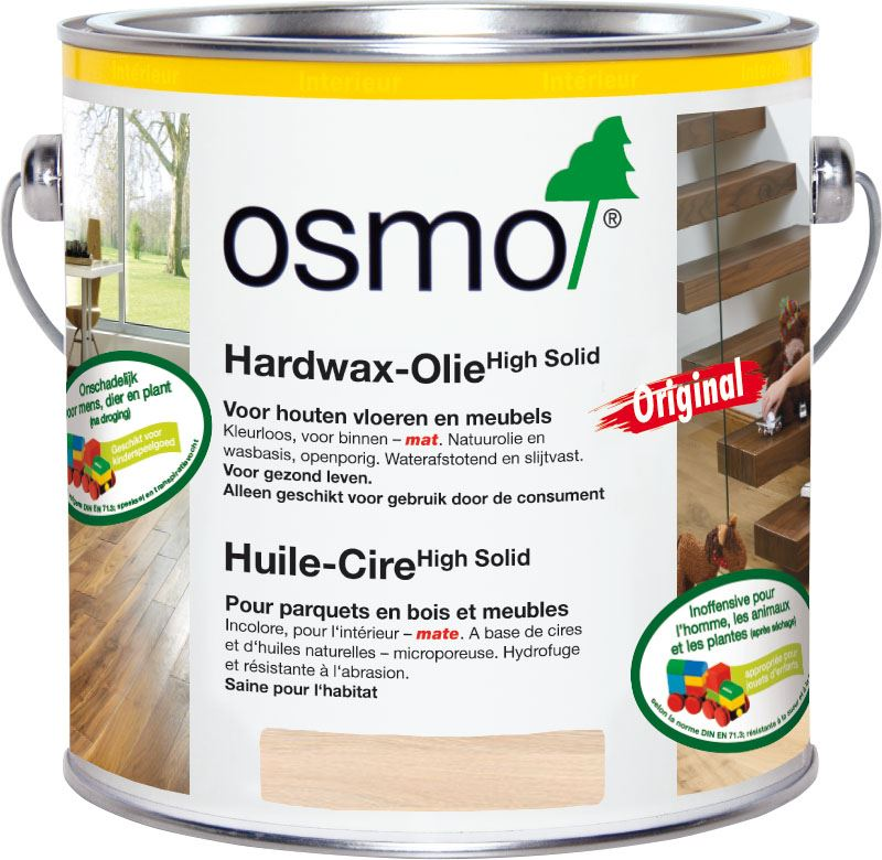 Osmo hardwaxolie 3041 (wit) naturel