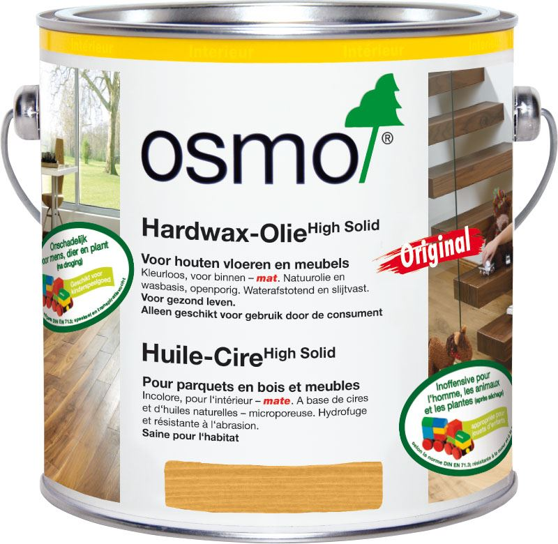 Osmo hardwaxolie 3062 mat transparant