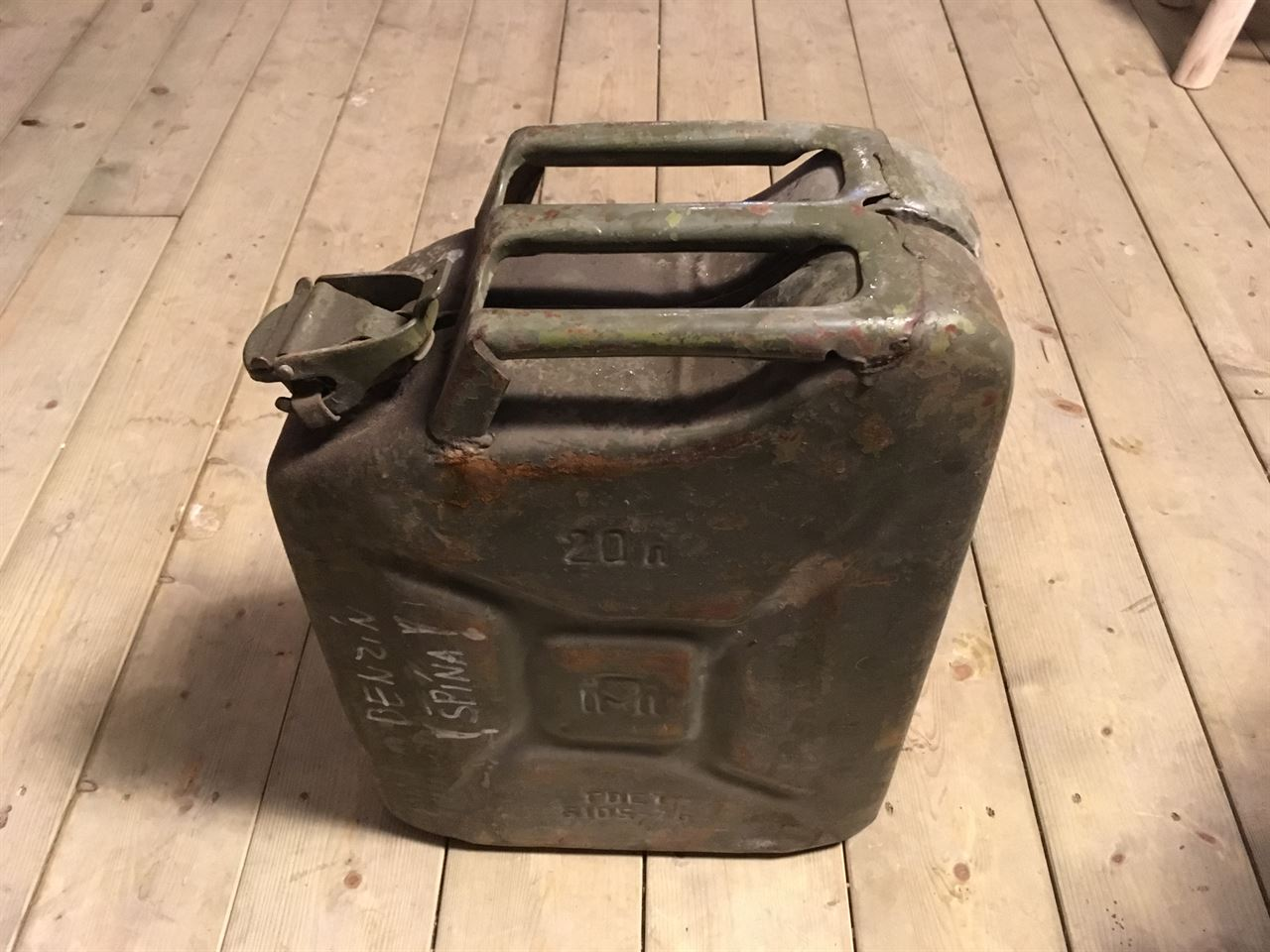 Leger jerrycan groot 20l